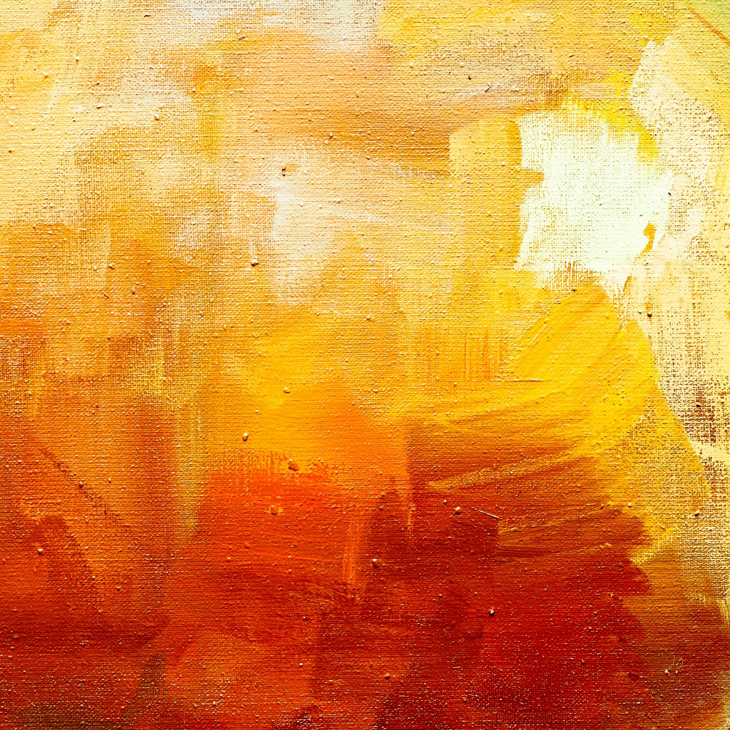 gold abstract paint